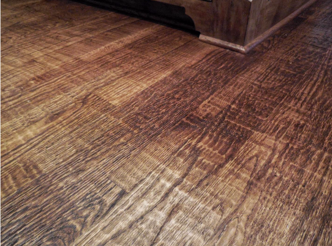 handscraped floor Handscraped hardwood ... - What Is Hand-Scraped Hardwood Flooring? Lane Sales Inc